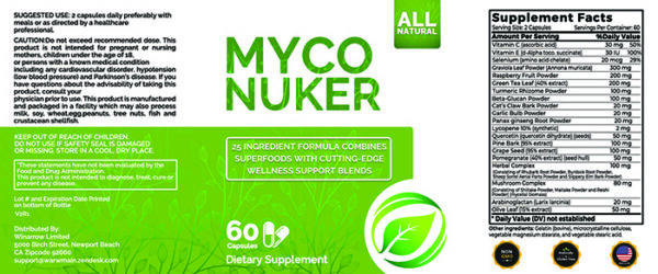 Myco Nuker-label